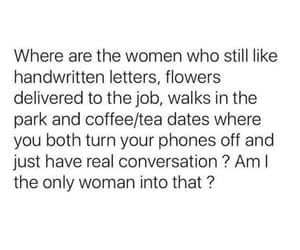 coffee, date, and flowers image