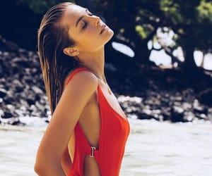 beach, bikinis, and sexy image