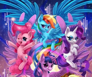 MLP and mane 6 image