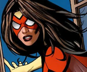 comic, spider woman, and jessica drew image