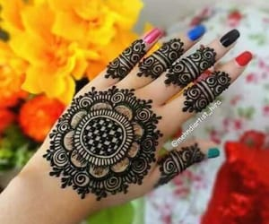 home sweet home, lovely, and beautiful mehndi design image