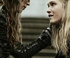 clarke griffin, eliza taylor, and clexa image