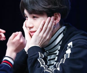 hands, smile, and bts image