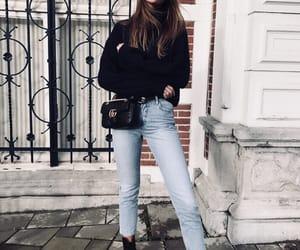 fashion, jeans, and noemiiberfu image