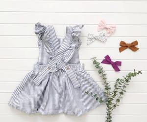 fashion, little girl, and baby fashion image