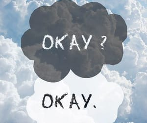 cloud, okay, and romantic image