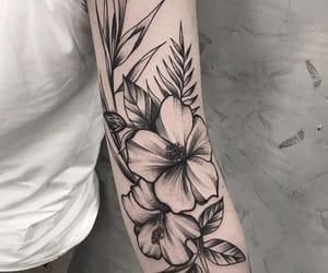 flower, inked, and ricardo garcia image