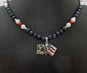 etsy, usa necklace, and independence day image