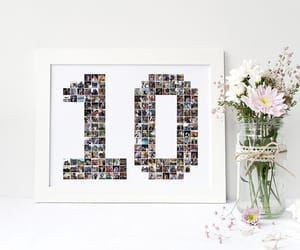 etsy, anniversary gift, and photocollage image