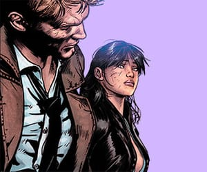 comics, couple, and john constantine image