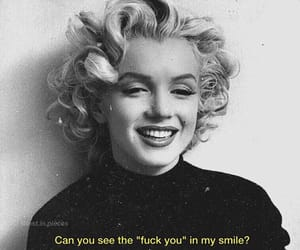 marilyn, quotes, and vintage image
