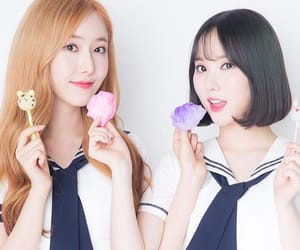 sinb, eunha, and gfriend image