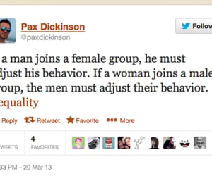 article, equality, and sexism image