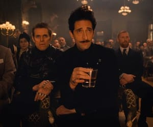 adrien brody, willem dafoe, and the grand budapest hotel image