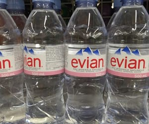 tumblr, water bottle, and evian image
