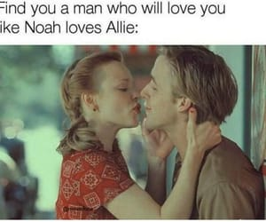 allie, movie, and noah image
