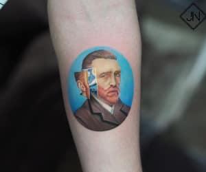 van gogh and van gogh tattoo image