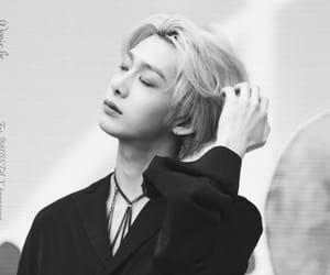 aesthetic, b&w, and monsta x image