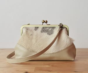 clutch, evening bag, and fur clutch image