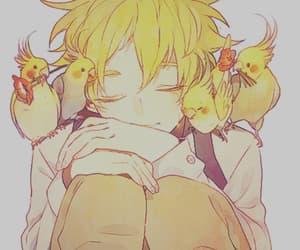 anime, tumblr, and bird image