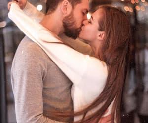 boy, couple, and kisses image