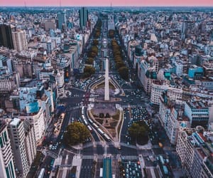 city, argentina, and buenos aires image