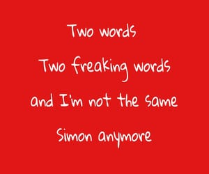 quotes and love simon image