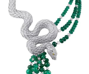 cartier, diamond, and emerald image