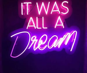Dream, neon, and light image