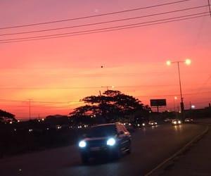 breathtaking, magic, and orange image