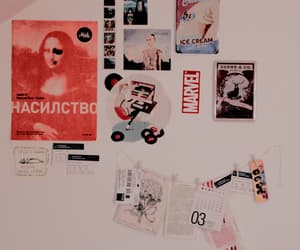 aesthetic, vintage, and wall image
