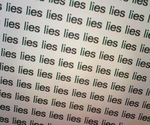 aesthetic, grunge, and lies image