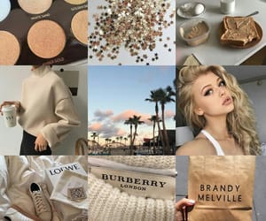 aesthetic, brown, and Collage image