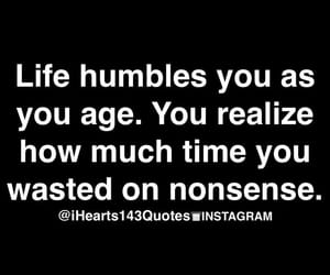 age, humble, and life image