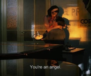 angel, subtitles, and aesthetic image