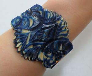 blue, bracelet, and vintage image