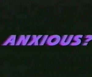 anxious, grunge, and purple image