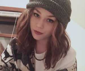 beanie, cute girl, and pretty girl image