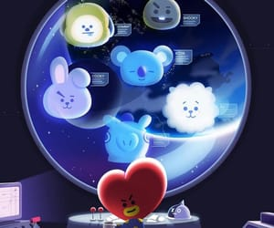 bts, bt21, and chimmy image