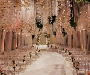 wedding, pink, and rose gold image