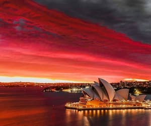 australia, red, and weather image