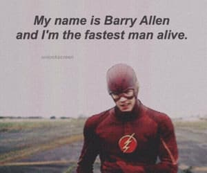 flash and barry allen image