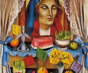 art, painting, and mexican art image