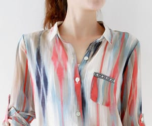 fashion, striped, and spring image