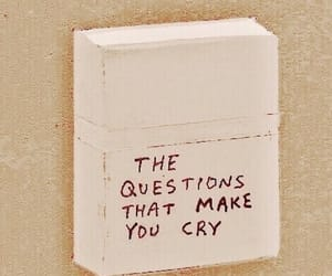 quotes, sad, and question image