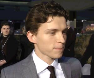 actors, tom holland, and gif image
