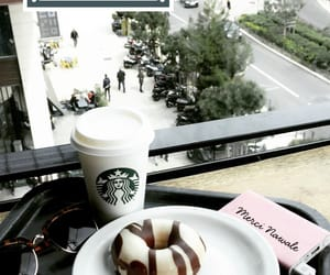 Blanc, starbuck, and donut image