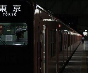 japan, train, and tokyo image