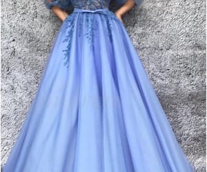 ball gown, evening dress, and party dress image
