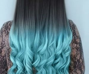 beautiful, curls, and hair image